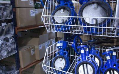 A Irriga Water Solutions contem d'un gran estoc